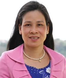 Cô Đào Thị Hương. Ảnh: Lê Nam
