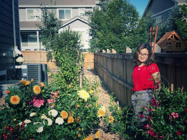 Vườn hoa thược dược rực rỡ sắc màu của mẹ Việt ở Mỹ - Nhà ...