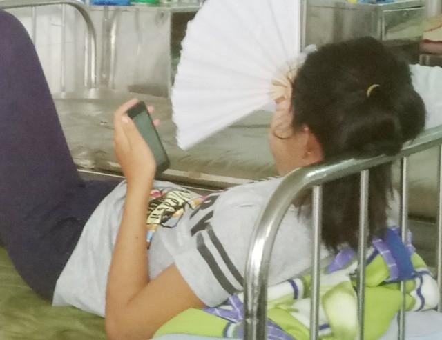 Cháu Lý Thị Kiều Oanh bị mất tích và trở về nhà trong tình trạng hoảng loạn tâm thần.