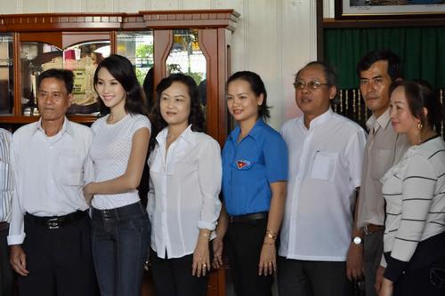 Căn nhà bình dị của Hoa hậu Đặng Thu Thảo khi cô vừa đăng quang