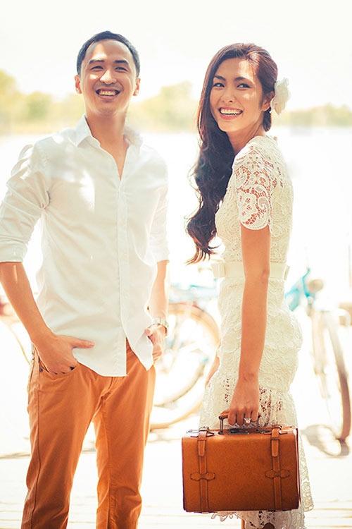 Sau 3 năm yêu nhau, Tăng Thanh Hà đã có một đám cưới đẹp như mơ với Louis Nguyễn