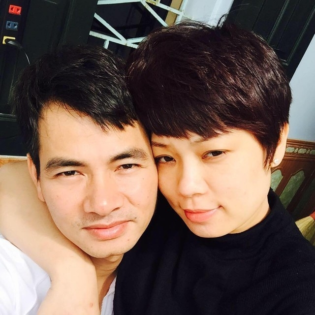 Hình ảnh tình cảm của vợ chồng Xuân Bắc - Hồng Nhung