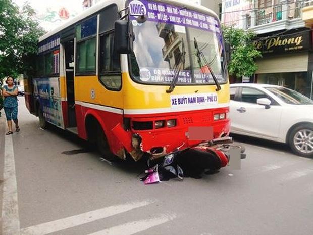 Hiện trường nơi xảy ra vụ va chạm giao thông. Ảnh: Facebook