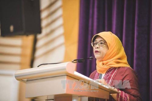 Bà Halimah Yacob sẽ là Tổng thống thứ 8 của Singapore. (Ảnh: New Straits Times/TTXVN)