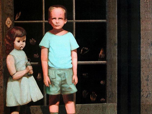 Bức tranh Hands Resist Him nổi tiếng trên trang bán hàng trực tuyến eBay.