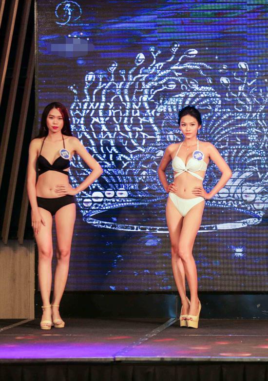 Tại vòng sơ tuyển Hoa hậu Đại dương 2017 ở khu vực phía Nam, Thanh Tú - con gái diễn viên Kiều Trinh đã nhanh chóng lọt vào bán kết. Dù chỉ cao 166cm nhưng nữ diễn viên Dịu dàng lại có gương mặt khả ái. Ở phần thi trình diễn bikini, Thanh Tú khoe đường cong nuột nà.