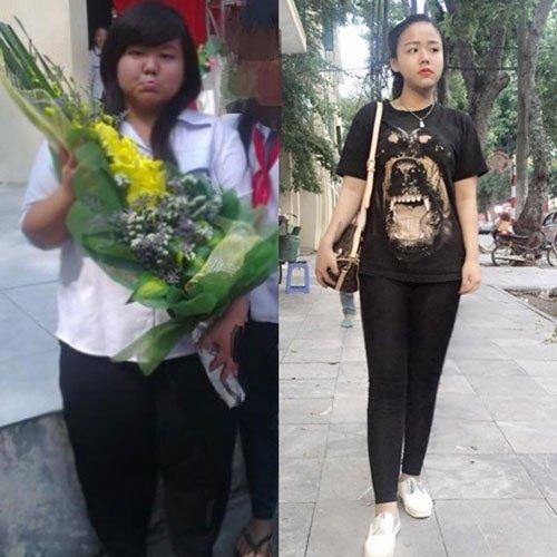 Cô nàng sinh năm 1997 – Lê Minh Châu từng có cân nặng lên tới 101 kg.