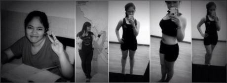 Linh An quyết tâm giảm cân.
