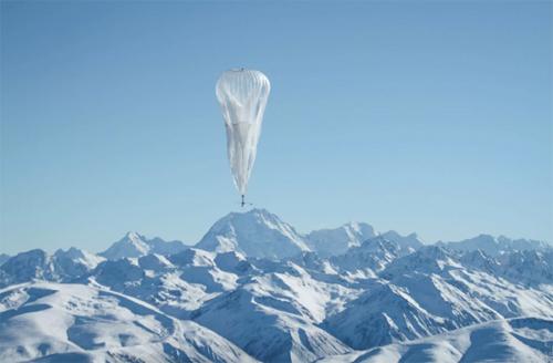 Loon có thể bay cao trên các đỉnh núi để cung cấp Internet tới bất kỳ vị trí hẻo lánh nào.