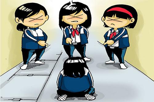 Trẻ bị bắt nạt ở trường thường có tâm lý sợ hãi. Ảnh minh họa.