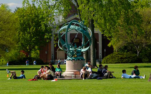 Trường Phillips Academy Andover ở bang Massachusetts (Mỹ). Ảnh: andover.edu