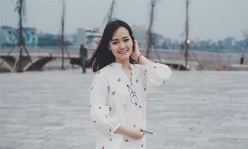 Đỗ Như Quỳnh là thủ khoa Đại học Y Dược - Đại học Thái Nguyên năm 2017. Ảnh: NVCC