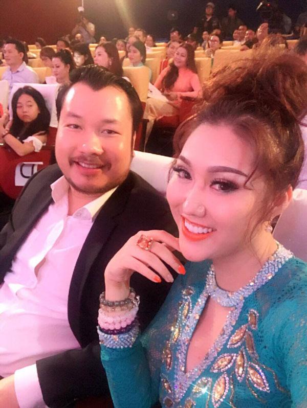 Phi Thanh Vân và bạn trai mới tên Triệu Văn Dương.