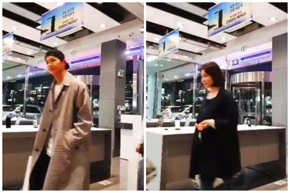 Song Joong Ki, Song Hye Kyo cùng đi mua sắm trước lễ cưới.
