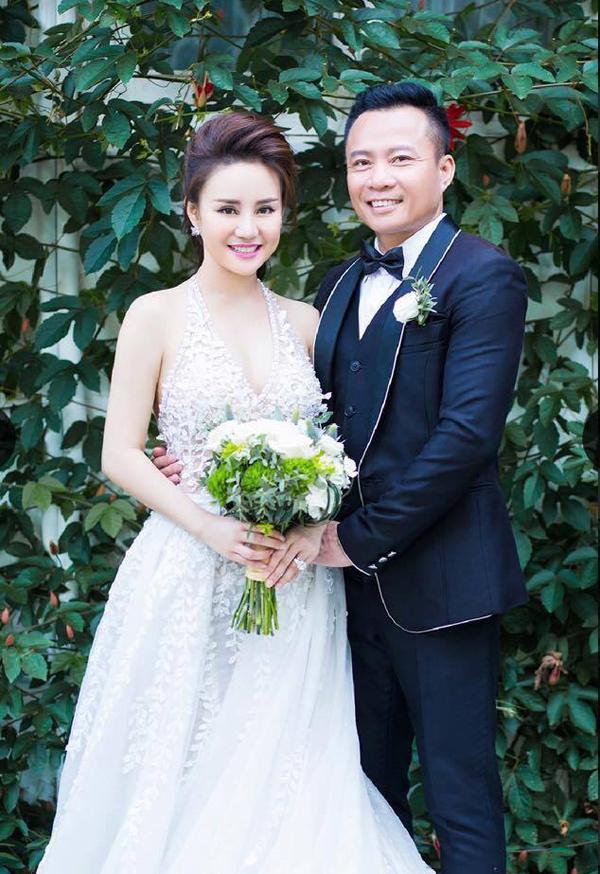 Vy Oanh công khai ảnh cưới với doanh nhân Lê Thiện.