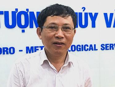 Ông Lê Thanh Hải, Phó tổng giám đốc Trung tâm Khí tượng thủy văn Quốc gia. Ảnh: T.M.
