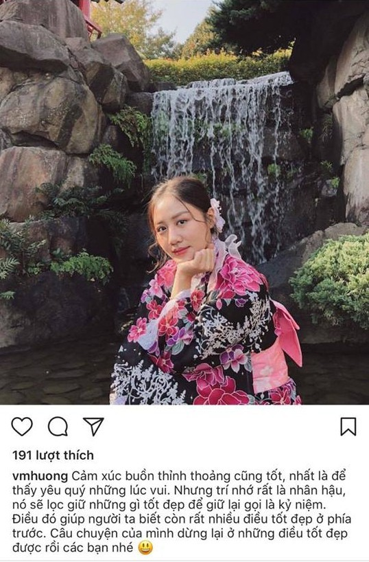 Văn Mai Hương chia sẻ hậu chia tay bạn trai: 'Chuyện của chúng mình dừng lại ở những điều tốt đẹp được rồi các bạn nhé!'