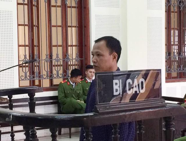 Bị cáo Lương Văn Tuấn tại phiên tòa