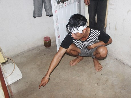 Hiện trường vụ tai nạn khiến một phụ nữ tử vong ở Nghệ An