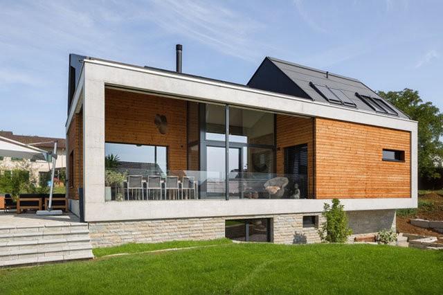 Lối kiến trúc tối giản, khỏe khoắn đang ngày càng được ưa chuộng ở khắp nơi trên thế giới. Gia chủ của ngôi nhà này cũng vậy.