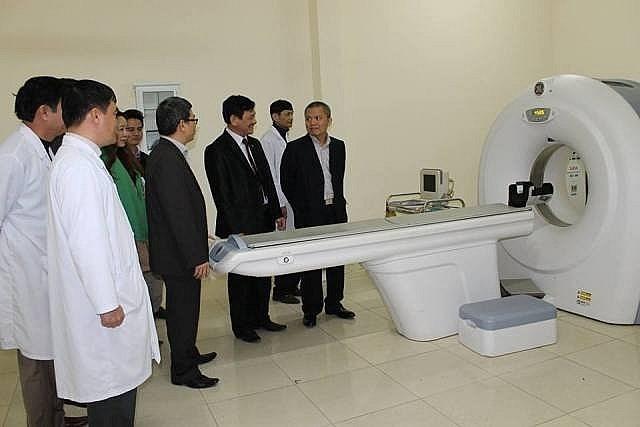 Bệnh viện E triển khai hiệu quả kỹ thuật về tim mạch cho BVĐK Thanh Hóa. ẢNH:T.X