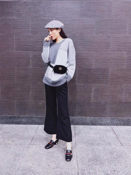Xuyệt tông ghi từ màu áo đến màu mũ beret, nàng Hoa hậu khiến người khác ngẩn ngơ vì vẻ ngoài như một fashion icon thứ thiệt.