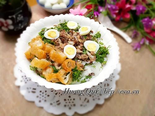 Xuýt xoa 4 món cháo nóng hổi thơm ngon lại dễ nấu cho bữa sáng