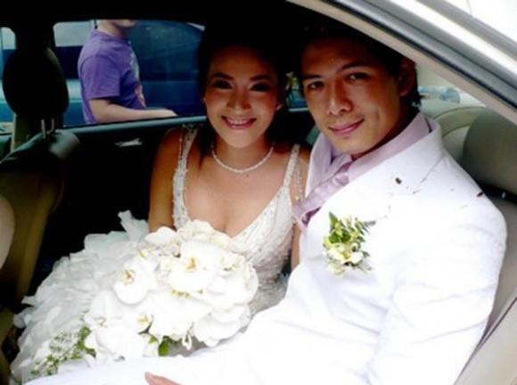 Anh Thơ kết hôn với Bình Minh vào năm 2008