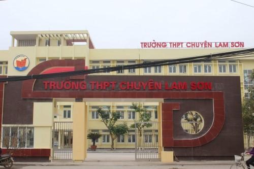 Trường THPT chuyên Lam Sơn - nơi nam sinh theo học. Ảnh: N.D.