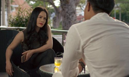 Nhật Kim Anh trong một cảnh phim.