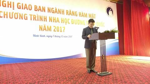 TTND, GS Trịnh Đình Hải – Giám đốc Bệnh viện Răng Hàm Mặt Trung ương