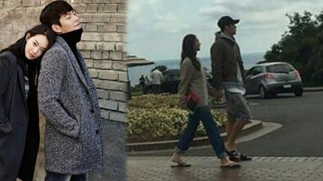 Ảnh hẹn hò trước khi phát hiện ung thư của Kim Woo Bin gây chú ý