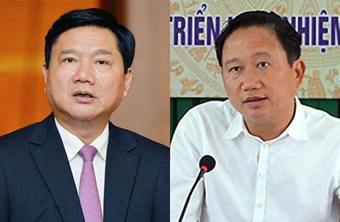 Ông Đinh La Thăng và Trịnh Xuân Thanh sắp hầu tòa