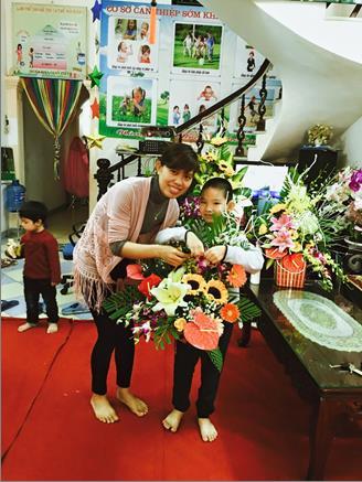Niềm hạnh phúc của cô giáo Hà.