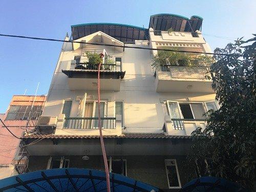 Căn nhà 3 tầng nơi xảy ra vụ cháy khiến 5 người bị mắc kẹt, la hét cầu cứu