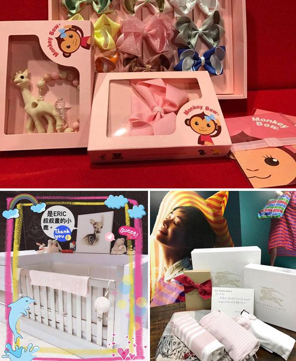 Lâm Tâm Như khoe trên trang cá nhân những món đồ rất xinh của con gái nhỏ. Ảnh: Weibo