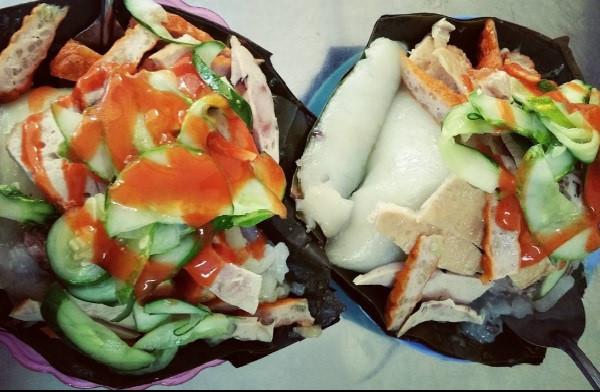 Bánh giò thường ăn kèm với giò, chả, dưa góp chống ngấy. Ảnh: honganhnguyen203/Instagram.