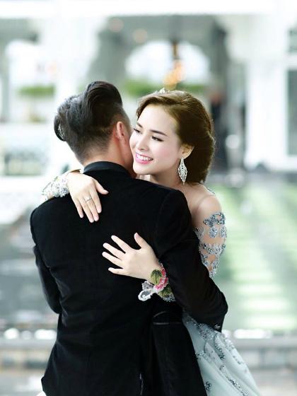 Chị Trần Quỳnh, vợ anh Bùi Tùng trân trọng sự quan tâm, chăm sóc và nhất là những thấu hiểu, đỡ đần của chồng khi vợ mang thai, sinh nở.