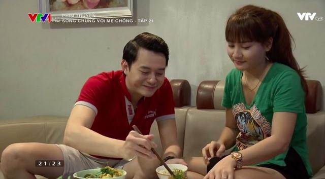 Thanh và Vân tận hưởng cuộc sống hạnh phúc khi ra ở riêng.