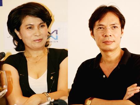Trần Lực cùng người vợ toàn năng- Bùi Mỹ Trang.