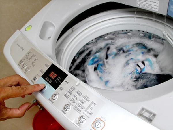 Điều chỉnh thời gian giặt hợp lý để tiết kiệm điện năng