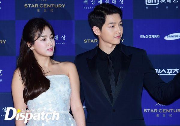 Song Hye Kyo từng ngủ qua đêm tại nhà Song Joong Ki khi quay Hậu duệ mặt trời. Ảnh: Dispatch.