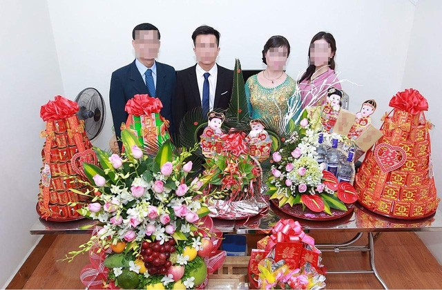 Một đám cưới giả với các nghi thức và thủ tục hoành tráng như đám cưới thật được công ty này đứng ra tổ chức.