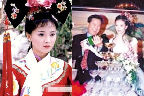 Ảnh cưới hiếm hoi của Vương Diễm.