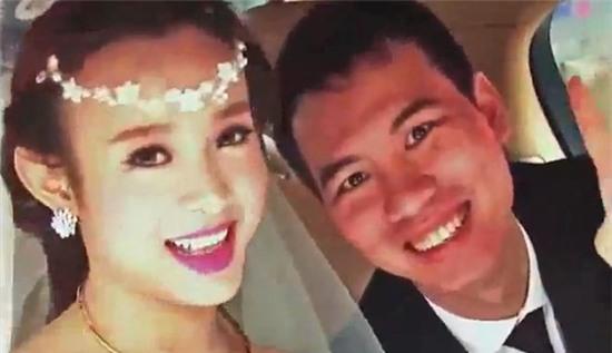 Những bức ảnh cưới hiếm hoi của dân mạng có được về đám cưới của Huyền Baby cùng vị đại gia trẻ tuổi.