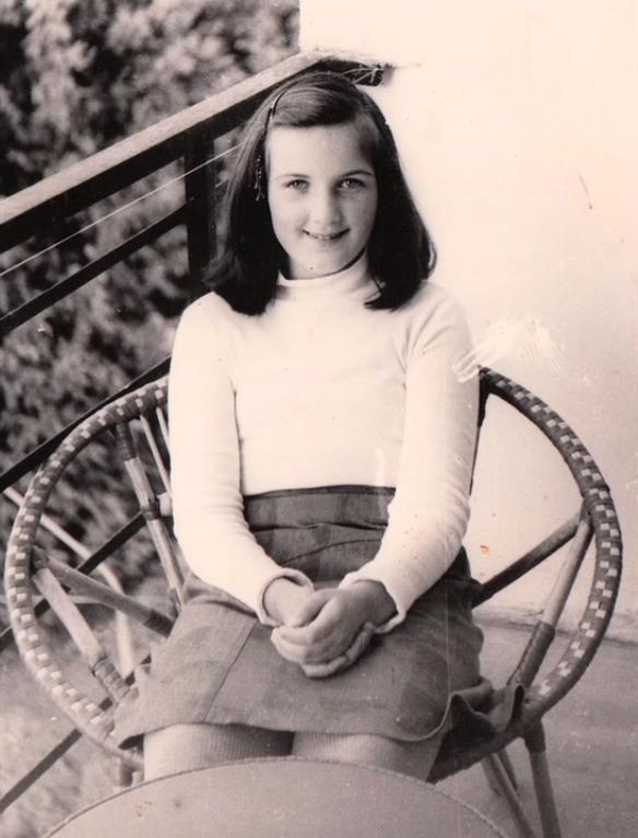 Valeria khi 11 tuổi.
