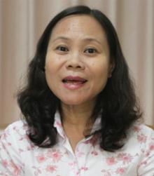 Cô Nguyễn Thị Lan Hương, Phó hiệu trưởng trường THPT Nguyễn Du (TP HCM). Ảnh: Mạnh Tùng