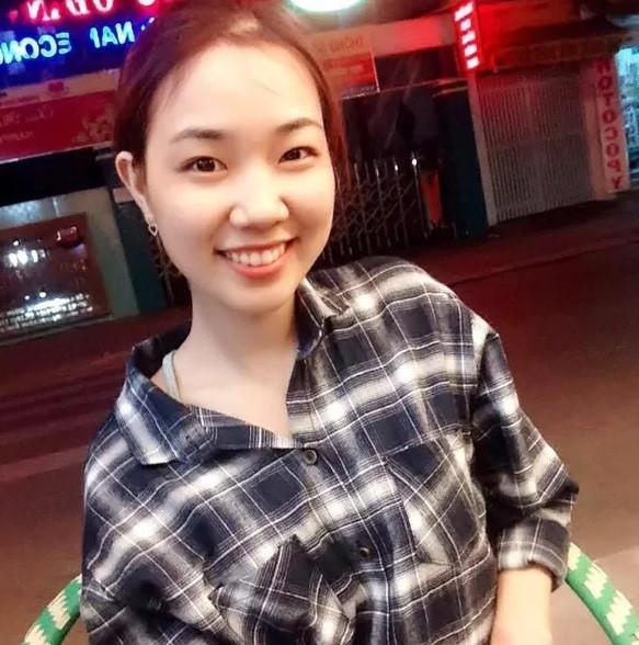 Trước khi xảy ra sự việc, Hương là cô gái xinh đẹp. Ảnh: Facebook nhân vật.