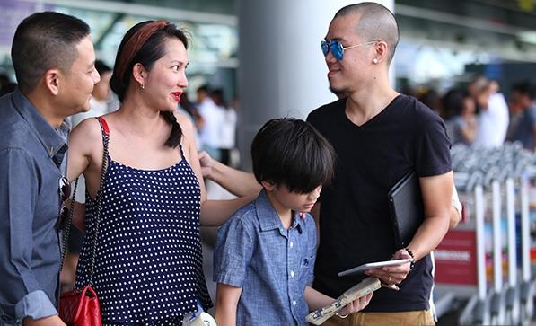 Mối quan hệ của Kim Hiền và chồng cũ rất tốt đẹp, thoải mái dù hai người đã chia tay khá lâu.