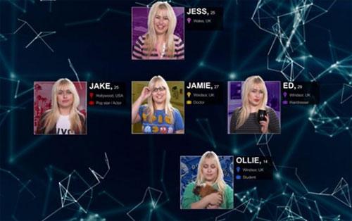 Các nhân cách của Jessica có mối quan hệ với nhau như một gia đình. Jake và Jamie là anh em. Jamie với Ed là một cặp đôi lưỡng tính, họ coi Ollie như con mình.